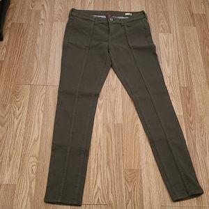 Arizona Army Green Super Skinny Jeans